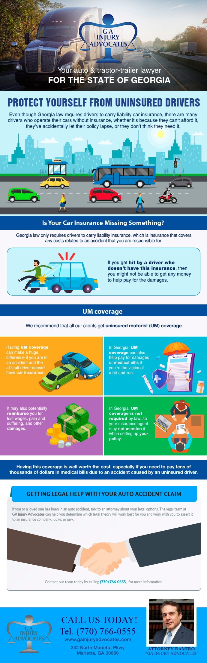 Protect Yourself From Uninsured Drivers